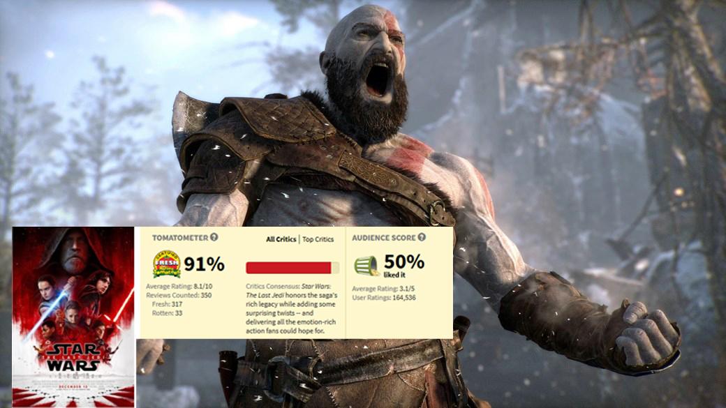 Kratos e Star Wars