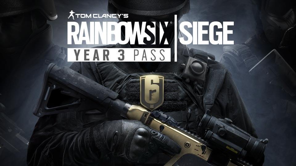 Rainbow Six Siege ano 3