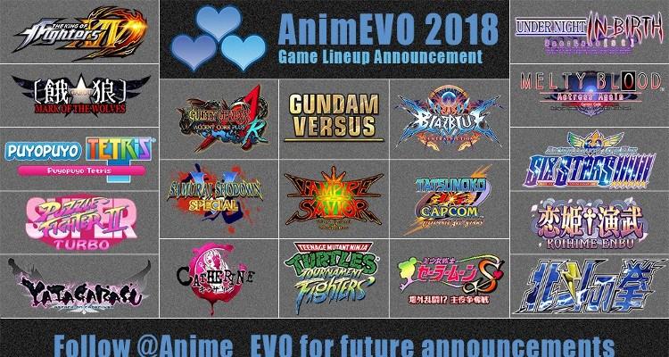 Confira os horários do AnimEVO 2018!