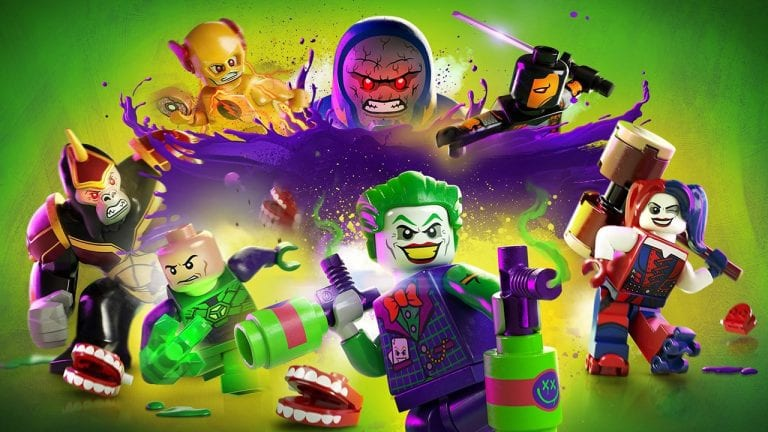 Jogamos Lego DC Super Villains