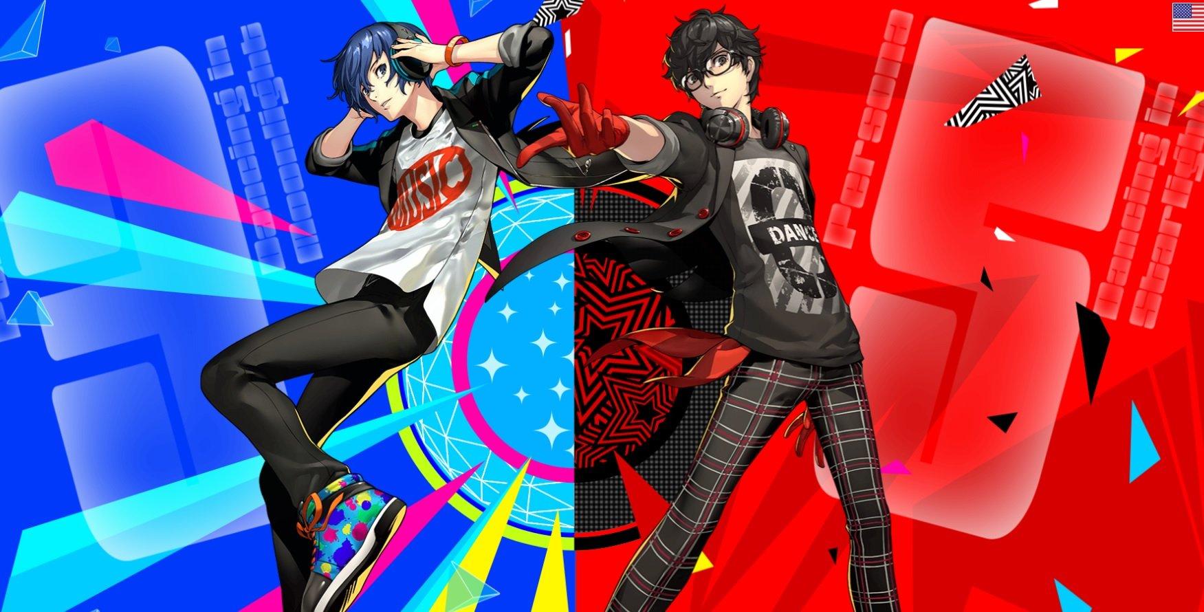 Persona 5 Dancing Star Night e Persona 3 Moon Night