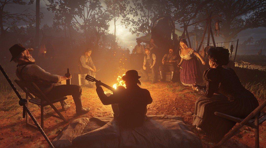 Red Dead Redemption 2 Acampamento