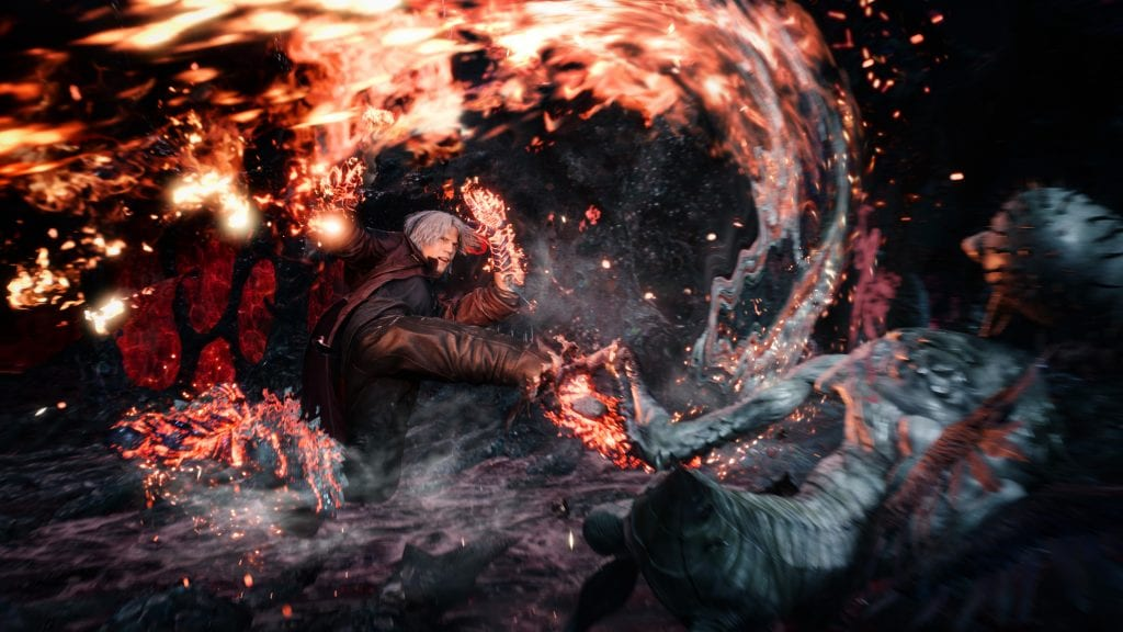 Devil May Cry 5 combate