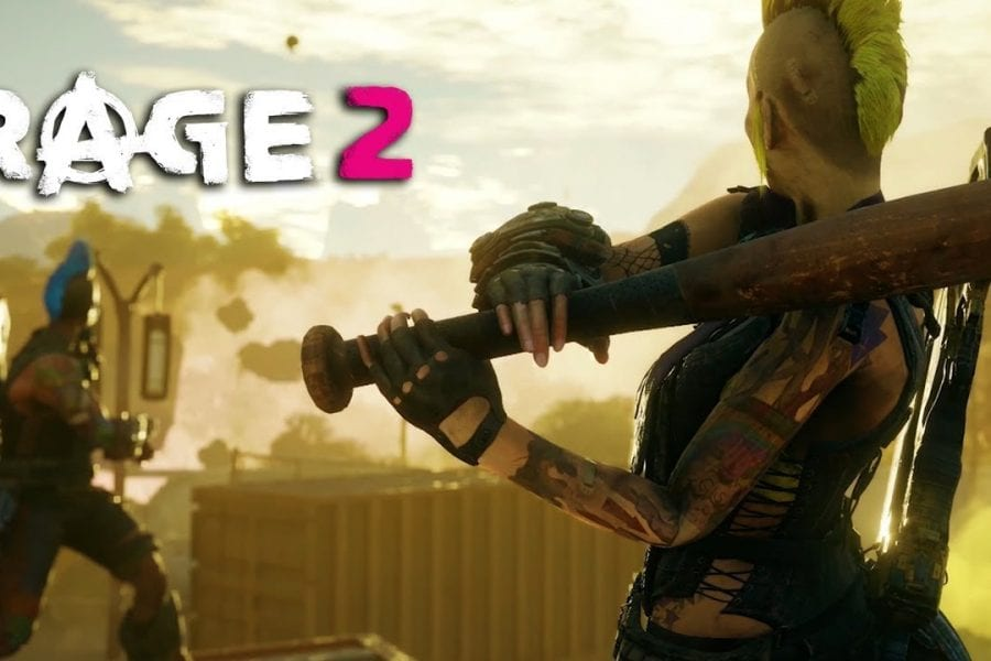 Rage 2 Wasteland Supehero é o novo trailer do game, mostrando todo seu humor