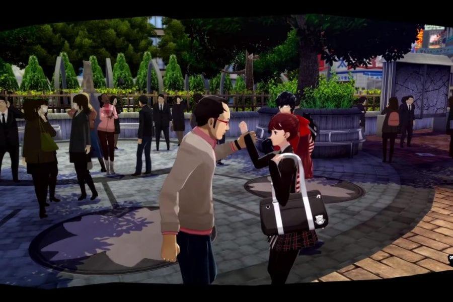 Lançado o primeiro trailer com gameplay de Persona 5 Royal